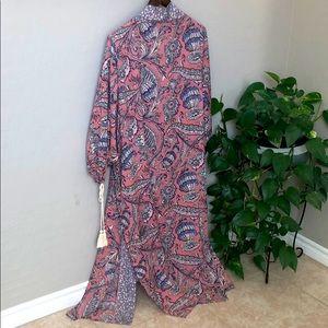 GIGIO Kimono duster open oversized long